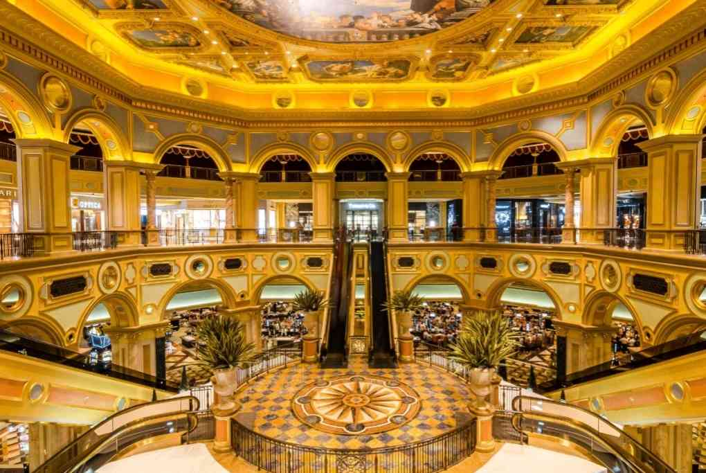Venetian Macau Casino Interior