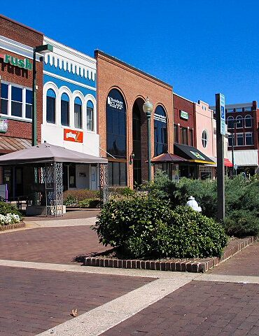 downtown Hickory North Carolina