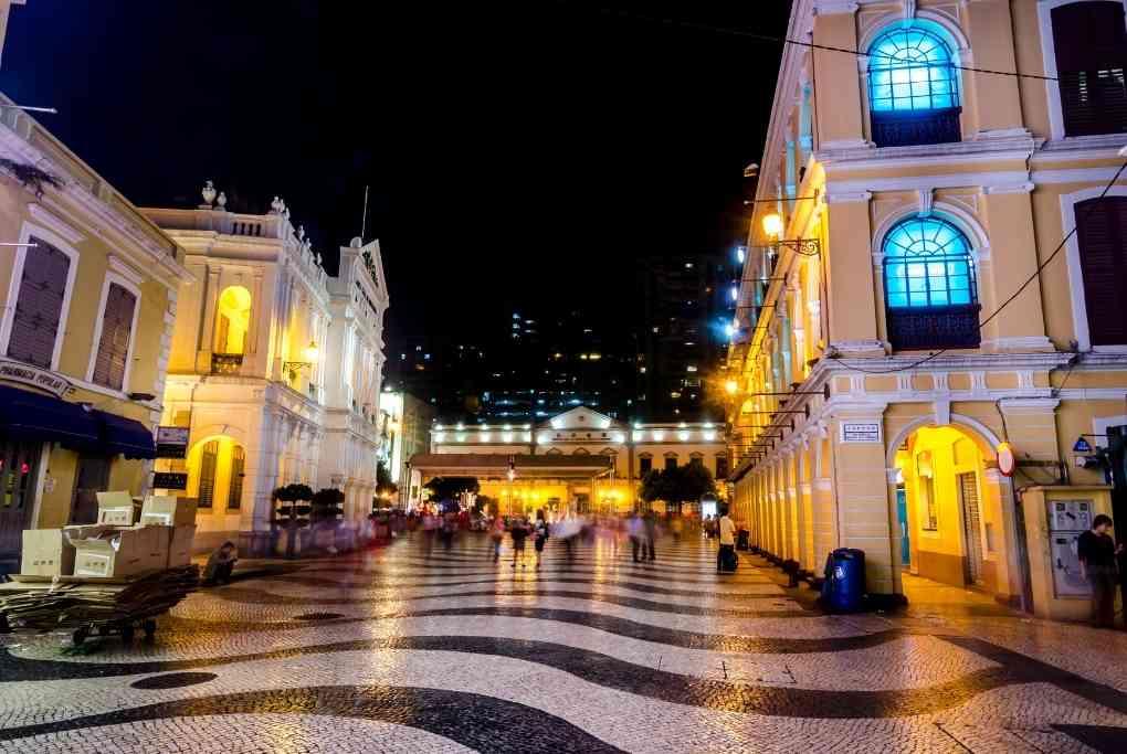 Lardgo Do Senado, Senado Square, Macau