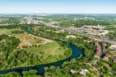 new braunfels aerial view