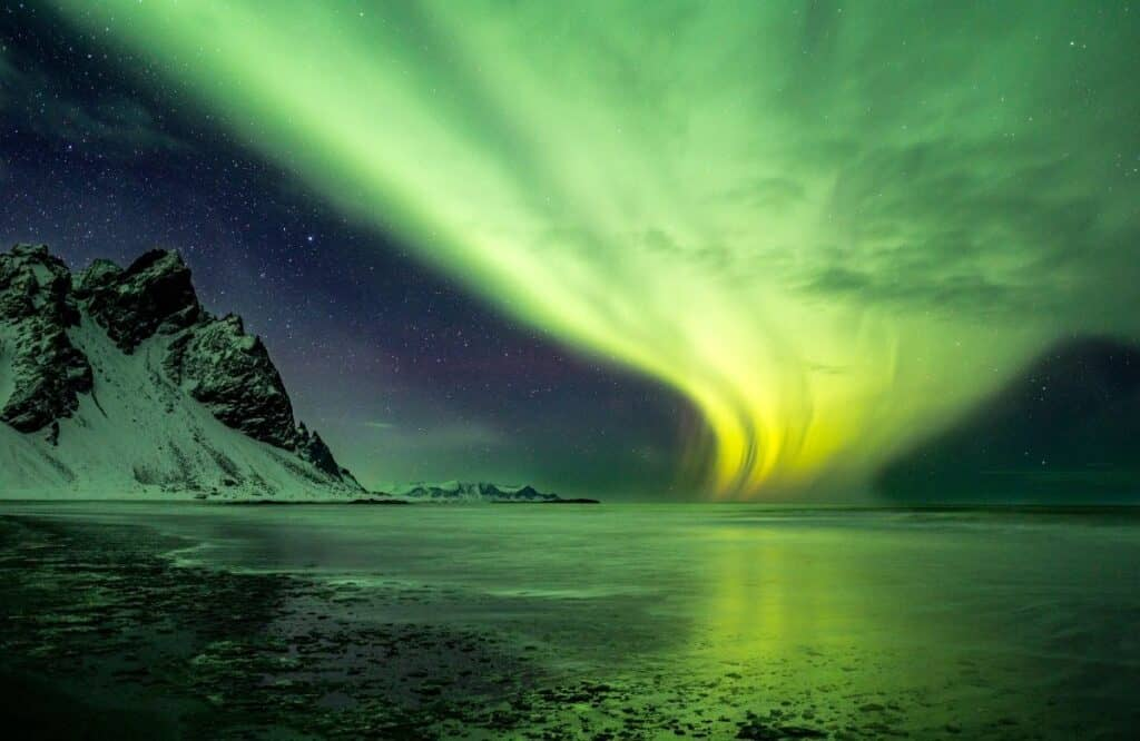 Go to Iceland to see northern lights