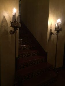 creepy staircase at the faust hotel new braunfels