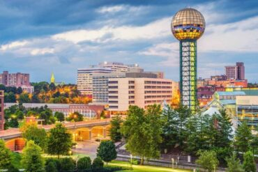 knoxville tennessee skyline